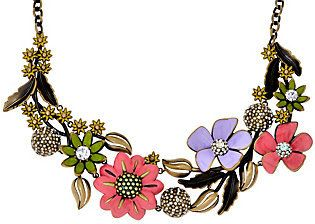 """Joan Rivers Classics Collection Joan Rivers Limited Edition Enchanted Garden 18"""" Necklace"""