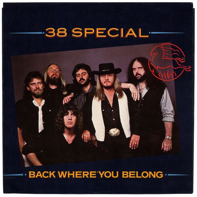 """""""Back Where You Belong"""" - 38 Special"""
