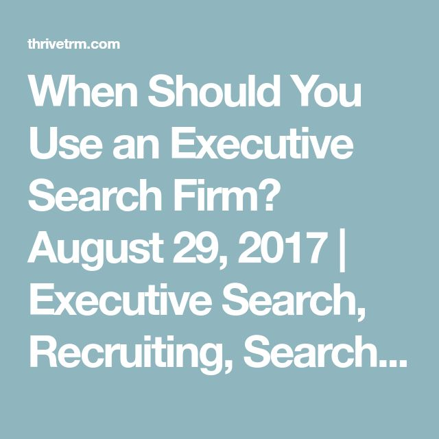 When Should You Use an Executive Search Firm? August 29, 2017 | Executive Search, Recruiting, Search SHARE THIS:Click to share on Twitter (Opens in new window)6Click to share on LinkedIn (Opens in new window)6  Posted by Reed Flesher Executive search firms help companies conduct the specialized recruiting required for these top leadership positions. Does every company benefit from using a search firm for executive recruiting though? Executive Search Requirements If your hiring team does not…