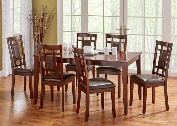 Lindsey 7 Pc. Dinette  - altview1  Love this set!  The Room Place
