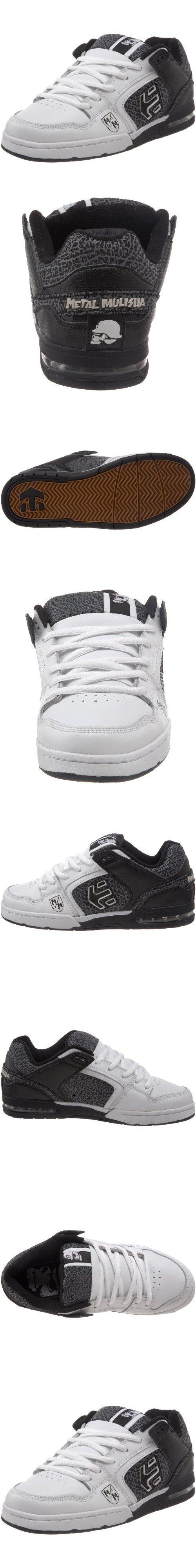 Etnies Men's Chrome 02 Skate Shoe,Black/White/Black,10.5 M US