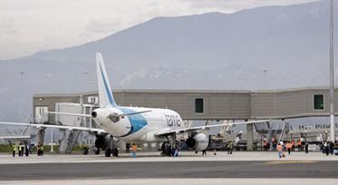 Horario de salida de vuelos internacionales desde Quito día Domingo