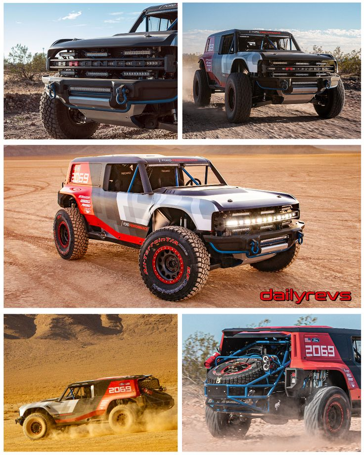 2019 Ford Bronco R Concept HD Pictures, Specs