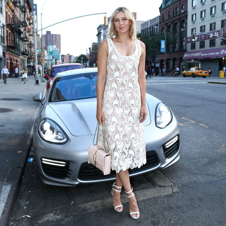 Maria Sharapova  The CFDA and Porsche Celebrate the 20th Anniversary of Fashion Targets Breast Cancer  Photo:     BFA NYC