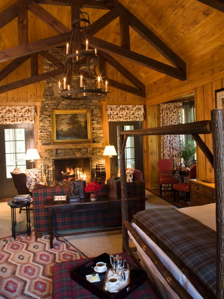 17 Best Images About Cozy Cabin Or Rustic Ranch Houses