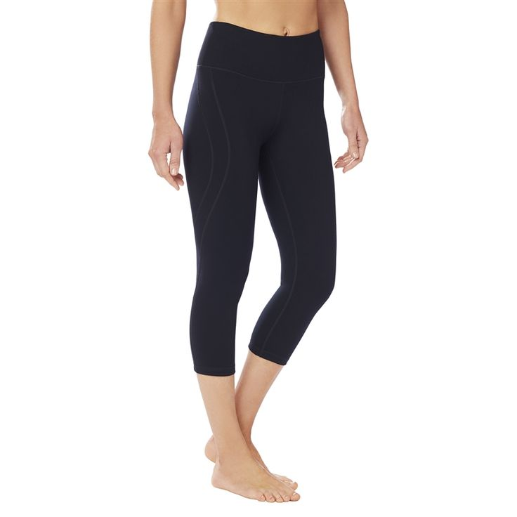 SHAPE Active Hi Rise SS Capri - Black. Workout LeggingsCapri ...