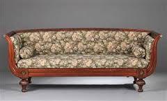 Billedresultat for dansk senempire sofa