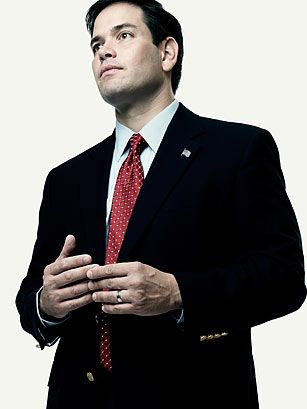 U.S. Senator Marco Rubio, My second political idol...The Future President of the United States