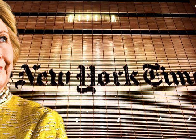 WikiLeaks Drops Proof That NY Times Colluded With Hillary Clinton While She Was Secretary Of State
