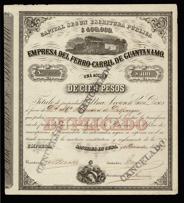 Ferro-Carril de Guantanamo (1877) - Caribbean Railway