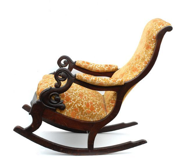antique victorian rocking chairs in walnut with finely carved arms . - 7 Best Vintage Rocker Images On Pinterest Armchairs, Chairs And