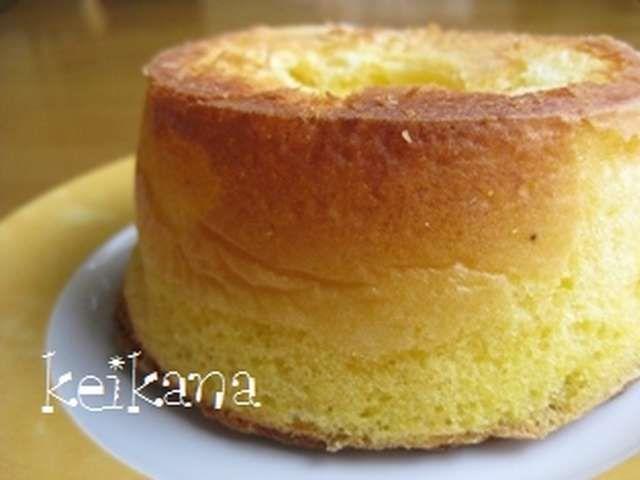 簡単 シフォン ケーキ の 作り方