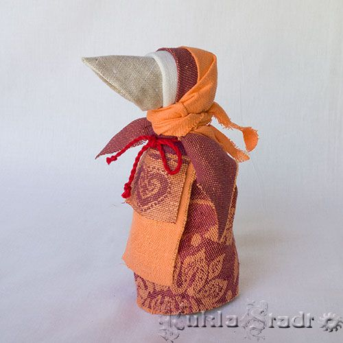 Кукла Сорока, вариант с крыльями