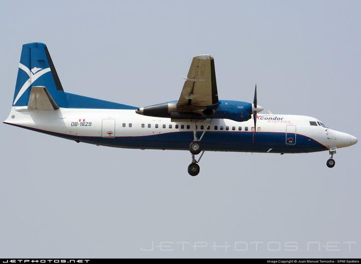 Photo of OB-1829 - Fokker 50 - Aero Cóndor Perú