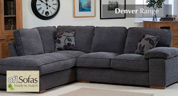 Denver Fabric Sofas - Made to Match your style.