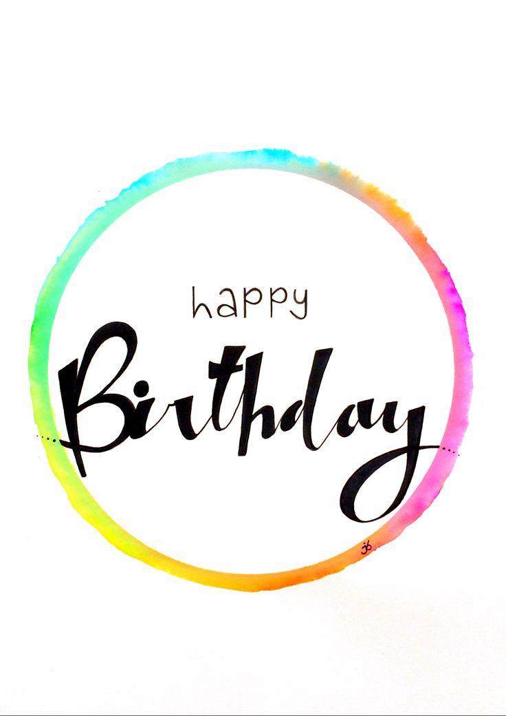 Happy Birthday -JB-