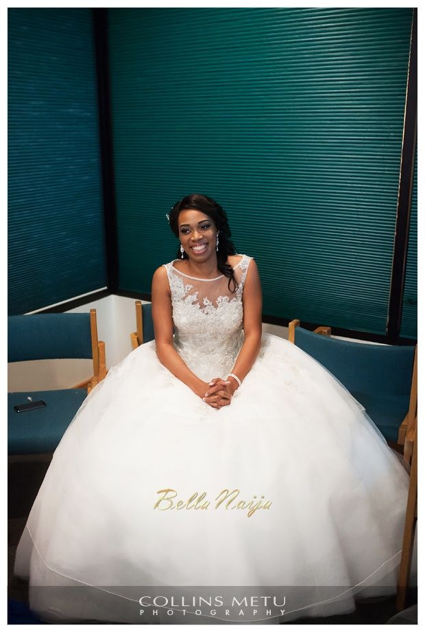 Beautiful Bride In Dress By Justin Alexander Amaka Chinedu S Houston Wedding Collins Metu