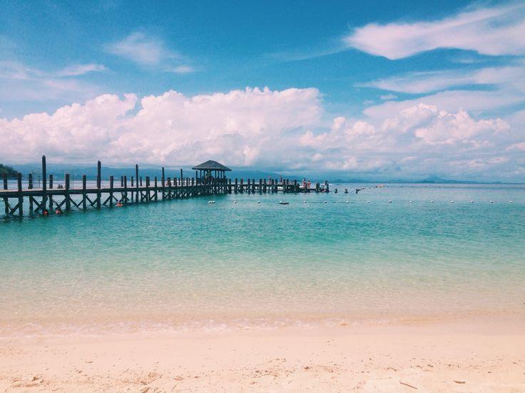Manukan Island, Kota Kinabalu, sabah, Borneo, malaysia