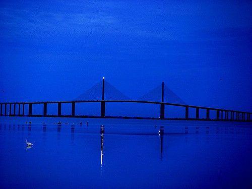 sunshine skyway bridge , FL