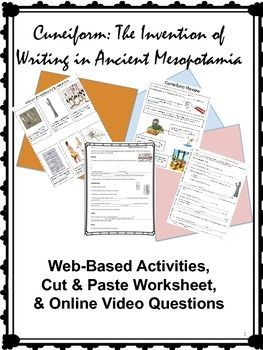 Text Structures-Informational Writing/Mesopotamia Unit