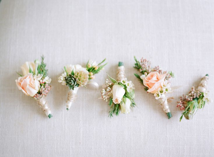 25+ Best Ideas About Peach Boutonniere On Pinterest