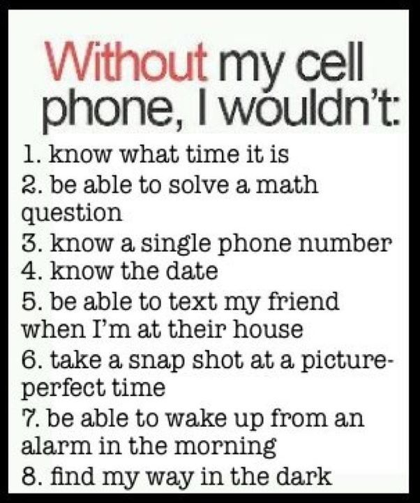 Well I know I am guilty of #1, 4, 5, 6, 7 and 8! (I have a flashlight application!) and I have an inexpensive Virgin Mobile Phone to boot!