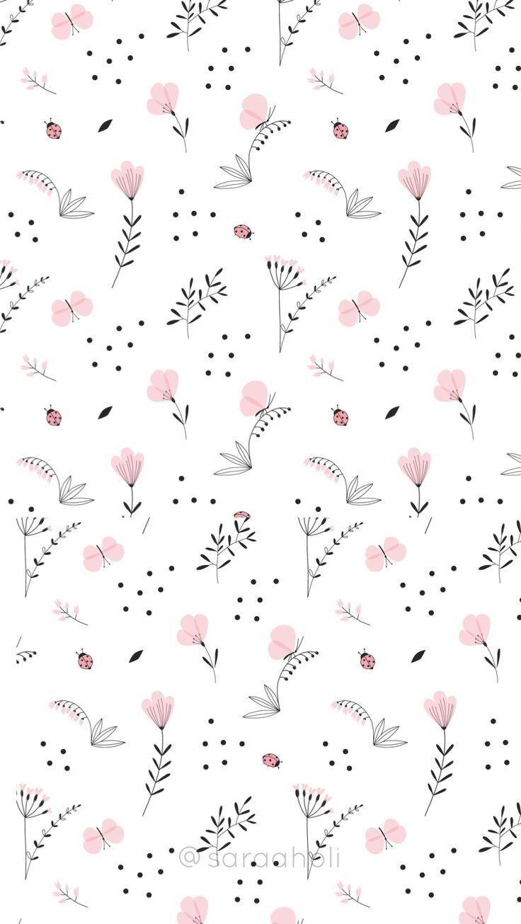 Prints Patterns Creative Prints Patterns Prints Pattern Ideas Prints Pattern Inspiration Creativ Flower Wallpaper Plant Wallpaper Pattern Wallpaper