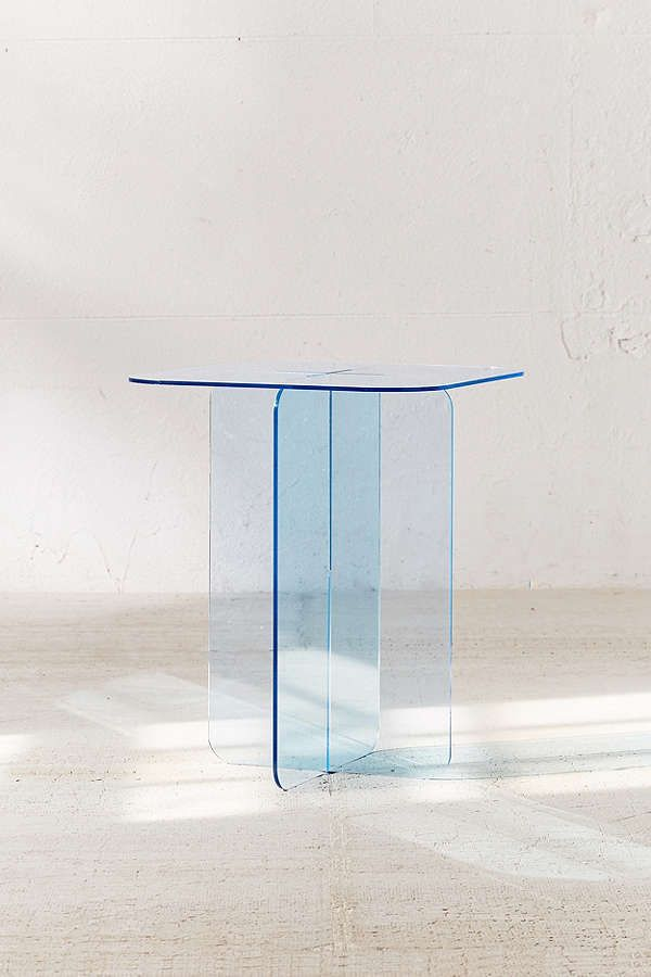 Halvar Acrylic Side Table