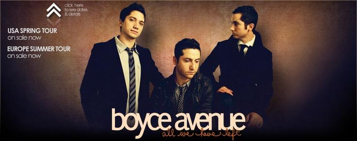 Boyce Avenue just A-awesome