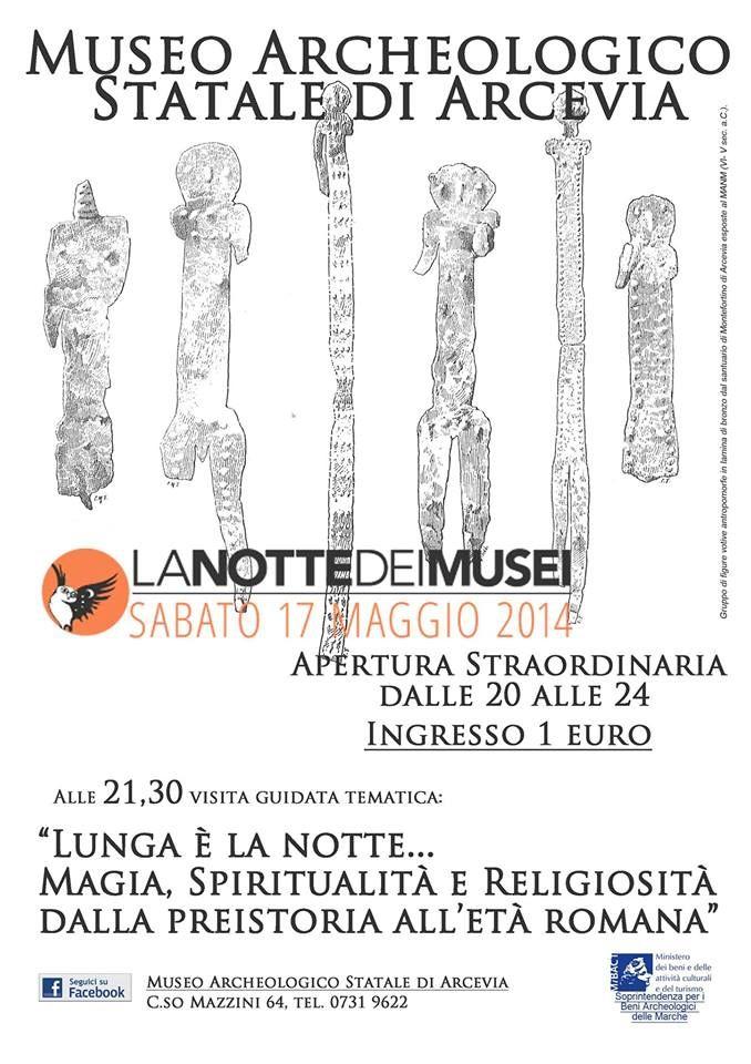 Museum at Night 2014 #NottedeiMusei #NDM2014 - Arcevia - Marche