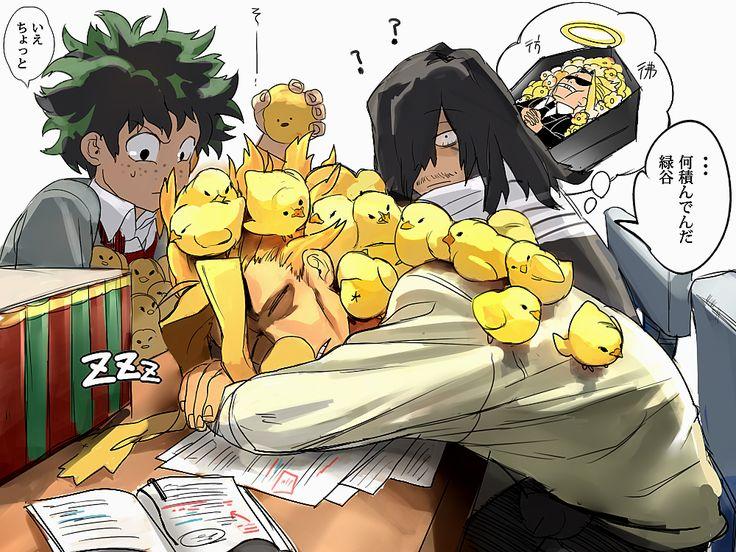 Boku no Hero Academia || Izuku, Aizawa y All Might