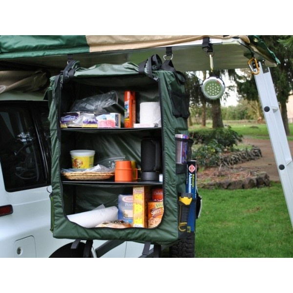 For Hanging In The Trailer Collapsible Hanging Organizer - Closet ideas for tent camping