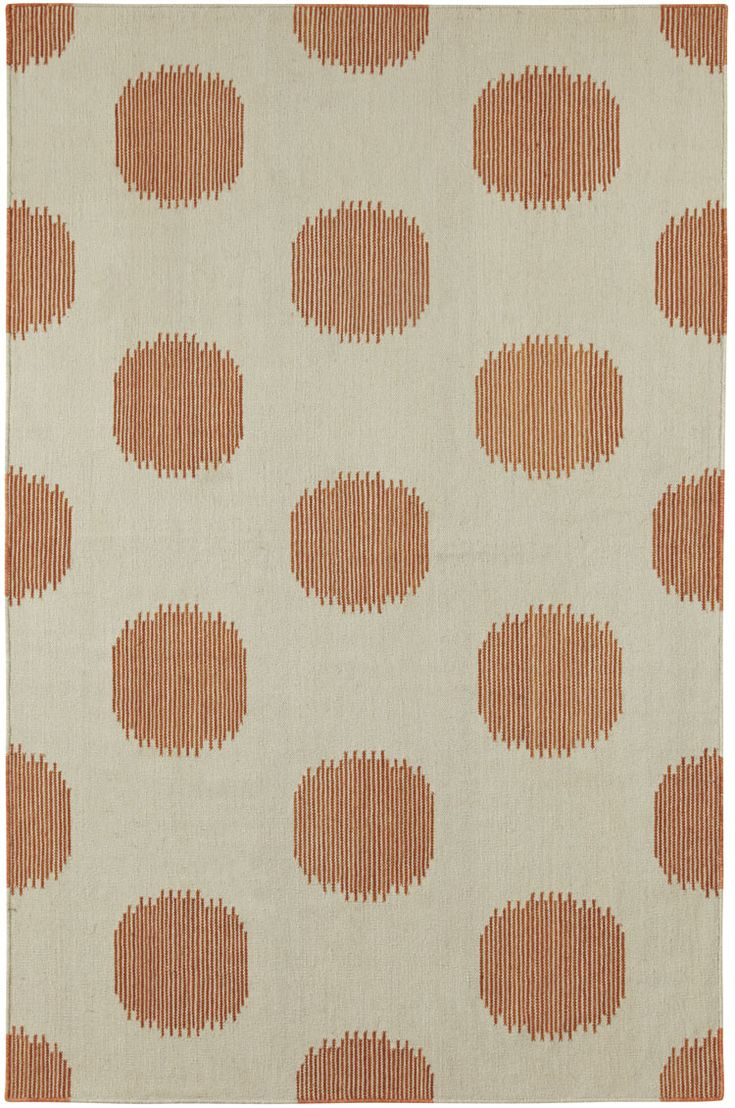 NY Dot Rug In Persimmon | By Genevieve Gorder For Capel Rugs, Americau0027s Rug  Company