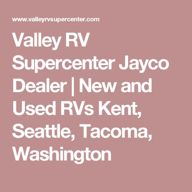 Kitchen Remodel Kent Wa: 17 Best Ideas About Jayco Dealers On Pinterest