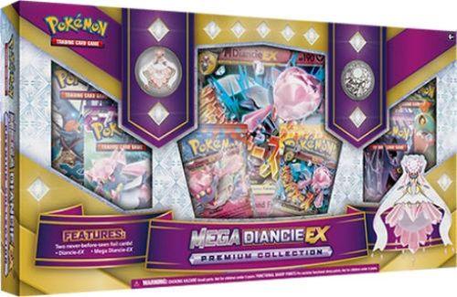 MEGA DIANCIE EX Premium Collection Box POKEMON TCG Cards Sealed Packs Promos