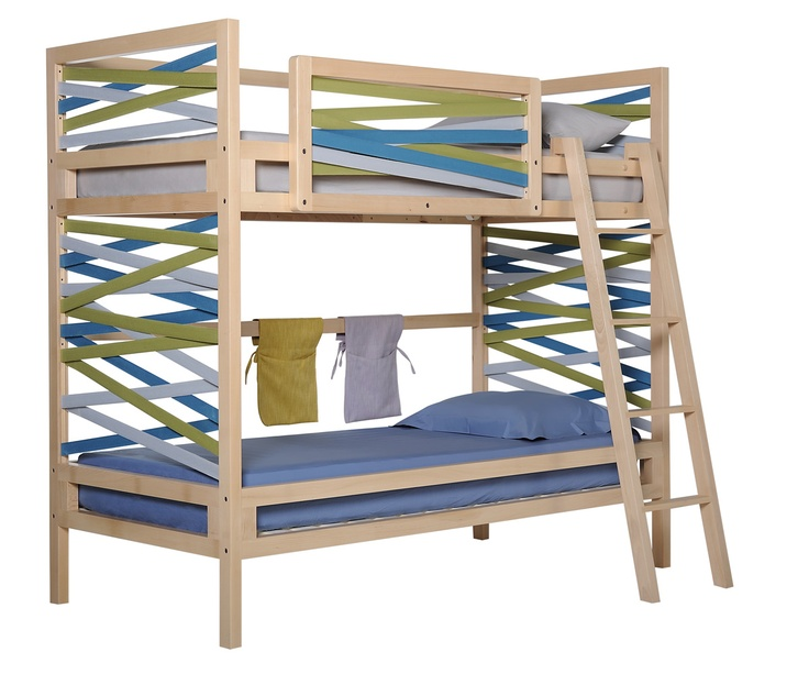 Myrtis I Bunk Bed From COCO MAT Love The Crazy Strips On