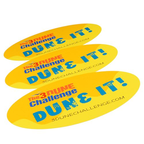 The indiana dunes visitor center has free stickers for those who complete the 3 dune challenge