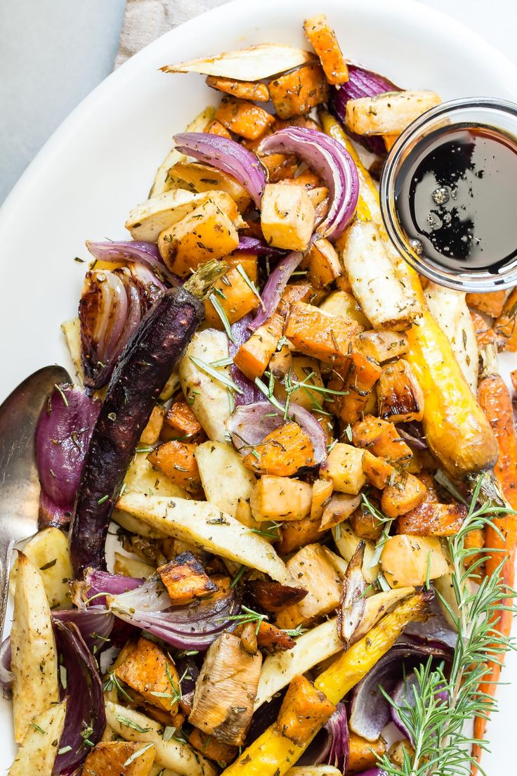 These Maple Balsamic Roasted Vegetables are a must for any dinner party or…