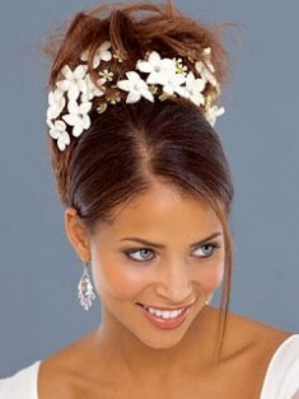 Black Wedding Hairstyles With Weave 610x813