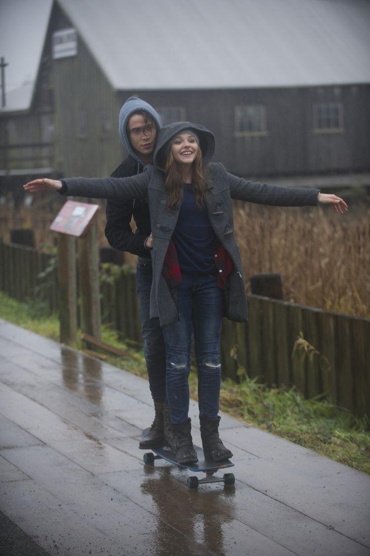 Chloë Grace Moretz y Jamie Blackley. Al fin y a cabo, todas queremos un novio como Adam