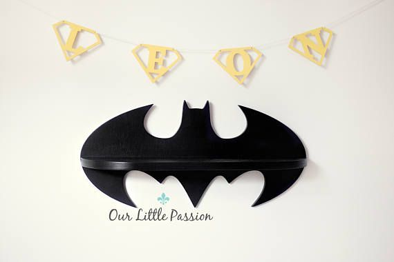 Hey, I found this really awesome Etsy listing at https://www.etsy.com/listing/539953025/batman-shelf-shelf-for-baby-nursery-kids