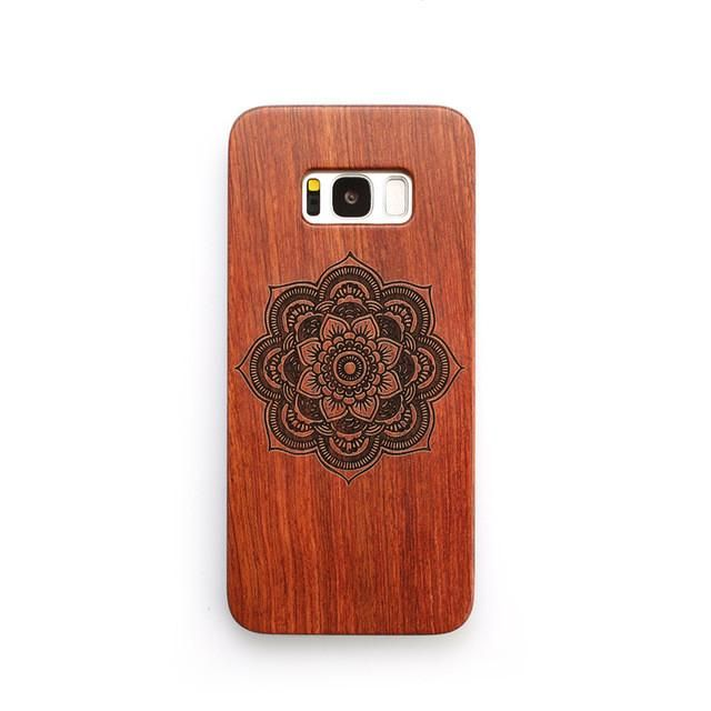 Phone Case For Samsung Galaxy S8 S8 Plus Luxury Natural Wood Phone Case For Samsung S8 S8 Plus
