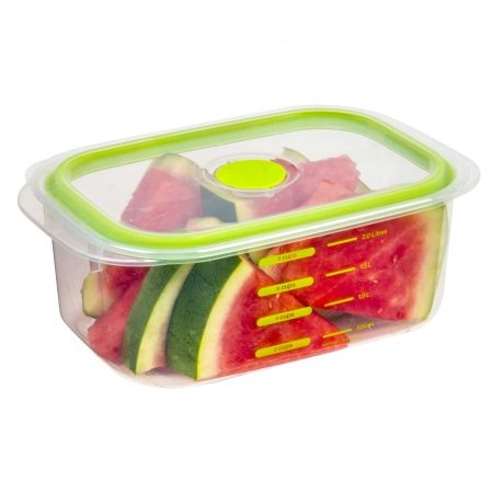 2l decor realseal food storer oblong the realseal lid for Decor 900ml container