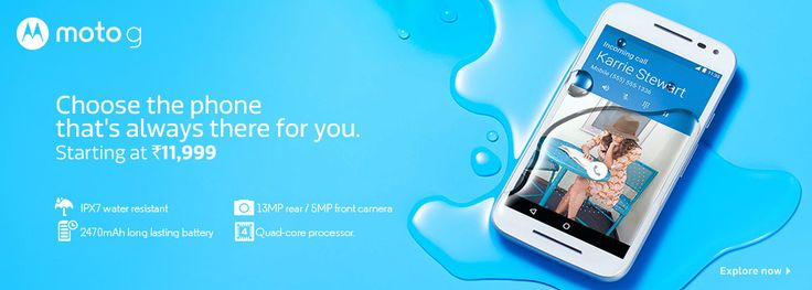 Moto G 3rd Generation 8GB & 16GB Launching Offers - http://www.grabbestoffers.com/coupon/moto-g-3rd-generation-8gb-16gb-launching-offers/