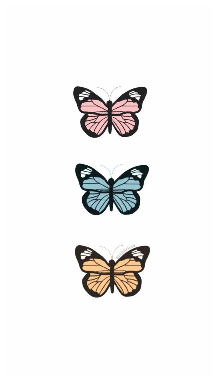1e446f28fd8043b4a6cfc309bf815076 » Butterfly Drawing Aesthetic