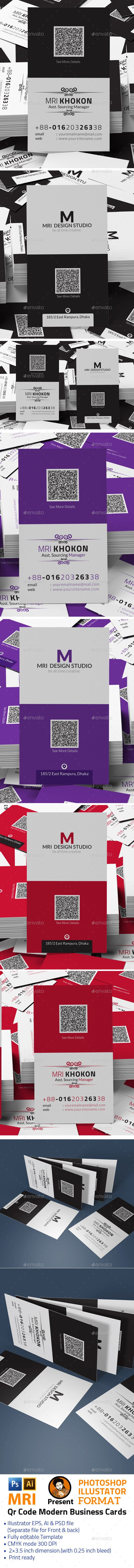 35 best business cards qr code images on pinterest