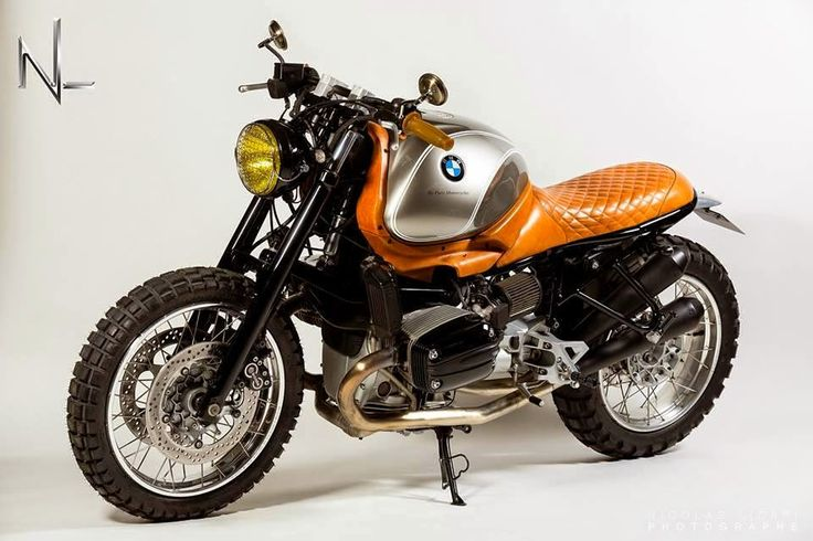 "- Pure Motorcycles - Project #14 Bmw R850R   ""Siver One"