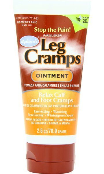 Hyland's Leg Cramp Ointment, Natural Homeopathic Calf, Leg and Foot Cramp Relief, 2.5 Ounce