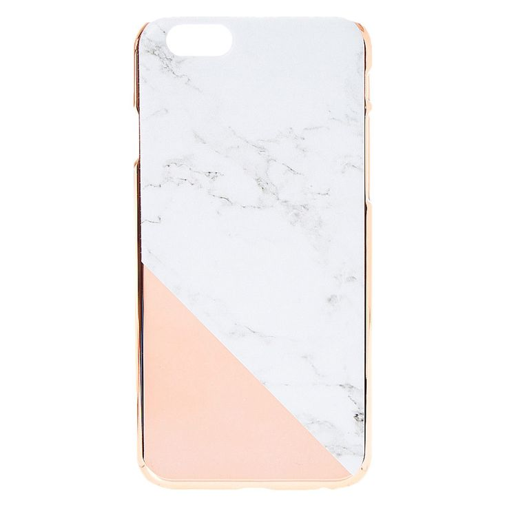"<!-- mp_trans_remove_start=""FR"" --><P>This phone case will be sure to catch eyes in a good way. Combined a side of marble print with a splash of rose gold print and you get this beautiful phone case. </P> <!-- mp_trans_remove_end=""FR"" -->"