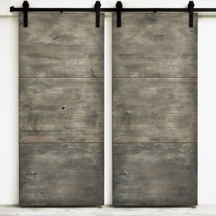 Large slab panels of solid wood express a minimalist modern appearance. Standard…